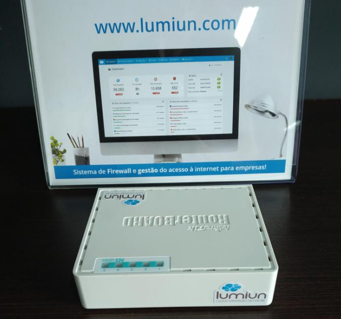 Login - Senha - Lumiun - Administrar - Redes - Box Usado 750gr3