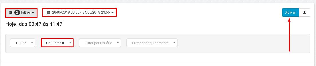 Lumiun - Dashboard - Relatorios - Relatorios 2.0 - Volume de Trafego - Filtros - Periodo - Aplicar Atualizado