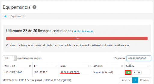 administrar - equipamentos - mac - wifi